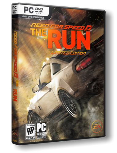 Need for Speed: The Run [Repack,Русск​ий,Arcade / Racing (Cars) / 3D] от R.G. Repacker's