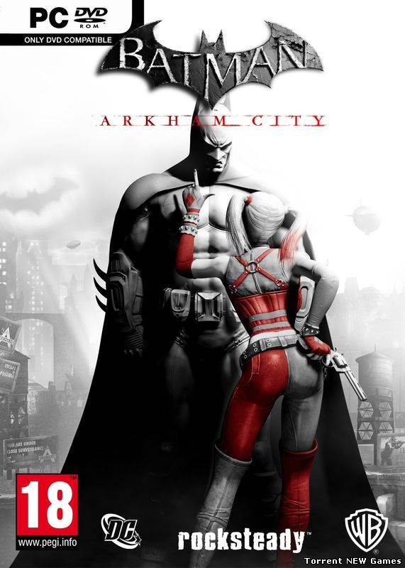 Batman: Arkham City (2011) Многоязычная версия (Rus/Eng) [Unlocked] (Steam-Rip)